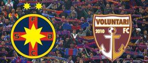 FCSB vs FC Voluntari - Super-cota-cadou 5 pentru victoria ros-albastrilor