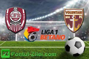 CFR Cluj vs FC Voluntari - Ardelenii cauta a 6-a victorie!