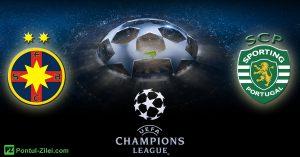 Cota zilei la pariuri 23 August | Mizam pe FCSB vs Sporting Lisabona