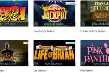 Care este casinoul online cu cele mai mari si mai multe jackpoturi