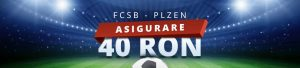 Pariezi pe FCSB vs Plzen cu 40 RON asigurare!