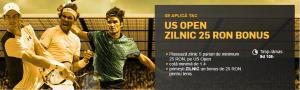 Pariezi pe US Open si ai 25 RON zilnic!