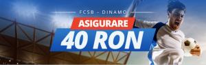 Pariaza pe FCSB vs Dinamo cu 40 RON asigurare de la Sportingbet!