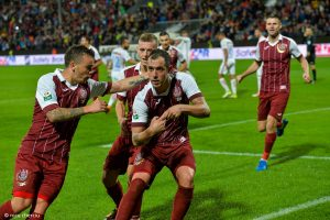 CFR Cluj nu poate avea emotii cu Juventus Bucuresti - Nu ratati o cota de 2.10!