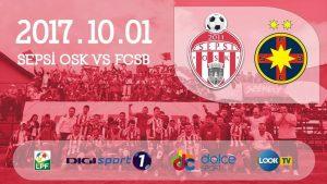 Sepsi vs FCSB - Ros-albastrii cauta inca un rezultat pozitiv!