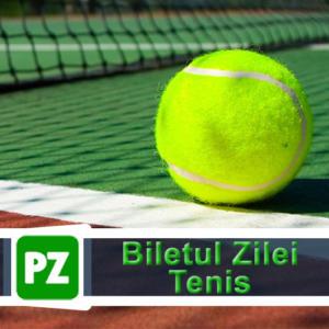 Cota zilei tenis ERC – Joi 24 Octombrie – Cota 3.35 – Castig potential 335 RON