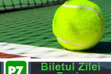 Biletul zilei din tenis de la ERC – Vineri 01 Martie – Cota 2.37 – Castig potential 237 RON