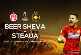 Beer Sheva vs FCSB – Meci dificil pentru roș-albaștri!