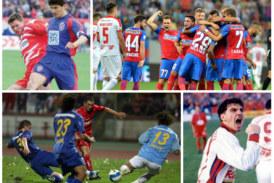 Steaua vs Dinamo în top 50 de derby-uri, peste Atletico vs Real sau Benfica vs Sporting