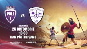 ASU Poli vs ACS Poli - Duel între timişoreni în Cupa României!