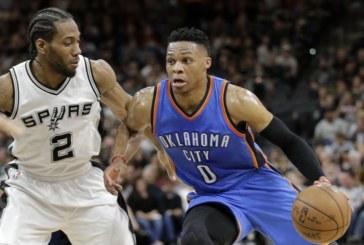 Baschet NBA: Reusesc Spurs sa le faca fata celor de la Thunder?