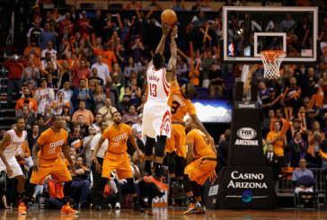 Baschet NBA: Harden si ai lui se deplaseaza in Arizona