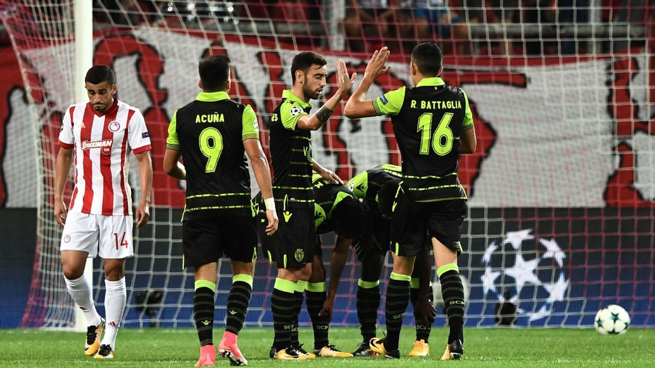 Ponturi pariuriChampions League- Sporting Lisabona vs Olympiacos
