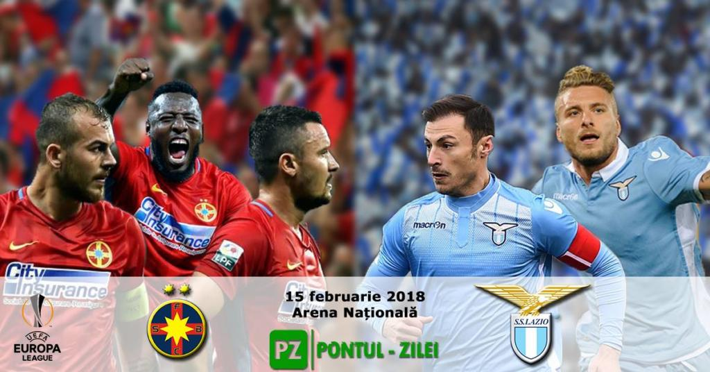 FCSB vs Lazio, in saisprezecimile Europa League