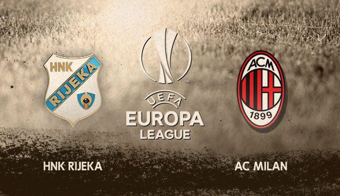 Ponturi pariuri Europa League – Rijeka vs AC Milan