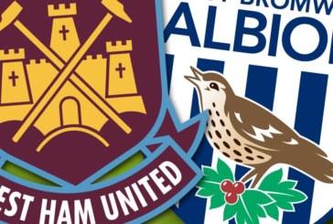 West Ham vs West Bromwich – Duel important pentru evitarea retrogradării