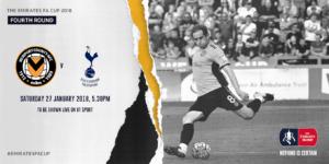 Newport County vs Tottenham - Facem profit cu o cotă de 2.60!