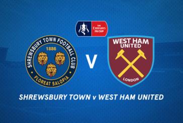 Shrewsbury vs West Ham – Primul duel direct după aproape 37 de ani