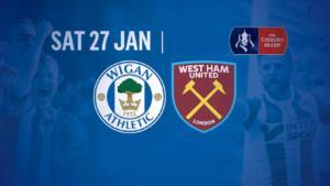 Wigan vs West Ham - Şanse mari la o cotă de 3.10