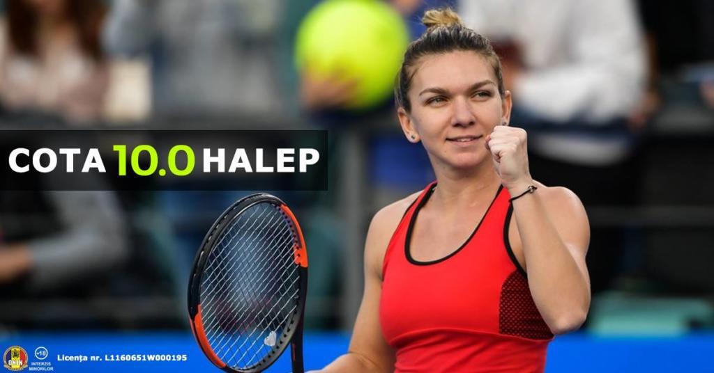 COTA 10 pentru Simona Halep sa castige cu Naomi Osaka sau dublul mizei inapoi!