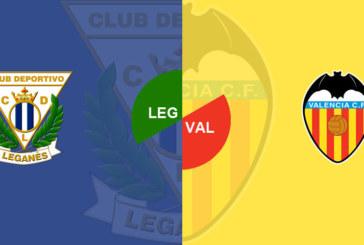 """Leganes vs Valencia – """"Liliecii"""" au câştigat toate duelurile directe"""
