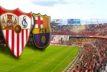 Sevilla vs Barcelona – Barca a câştigat ultimele şapte dueluri directe
