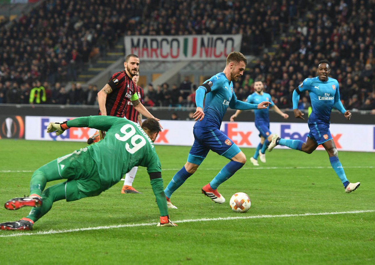 Ponturi pariuri fotbal Europa League - Arsenal vs AC Milan