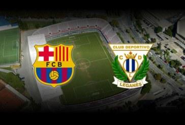 Barcelona vs Leganes – Catalanii își zdrobesc adversarii!
