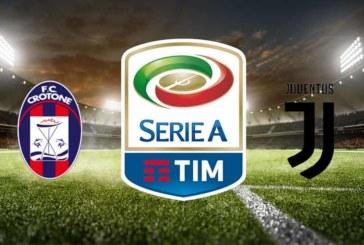 Crotone vs Juventus – Liderul e neînvins de 19 etape