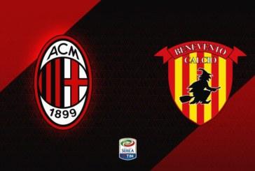 AC Milan vs Benevento – Șansa revanșei pentru rossoneri!