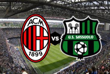 """Milan vs Sassuolo – """"Rossonerii"""" încă mai visează la Liga Campionilor"""