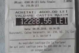 Doua meciuri, unul de fotbal si altul de handbal, i-au adus unui bucurestean un castig de peste 12.000 RON