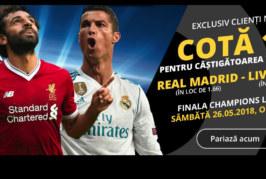 Biletul zilei din fotbal – Sambata 26 Mai – Cota 2.30 – Castig potential 230 RON