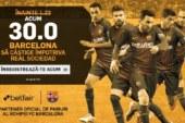 Cota 30.0 pentru Barcelona sa castige cu Real Sociedad plus Abonament Premium 60 de zile