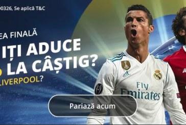 Pariaza la Fortuna pe Real vs Liverpool si ai 50% in plus la castig!