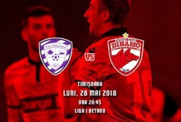 ACS Poli Timişoara vs Dinamo – Vezi ce să pui pentru cote de 3.45 şi 4.0