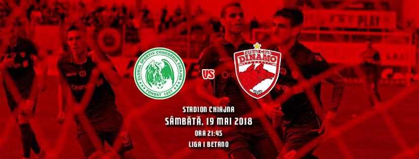 Ponturi pariuri fotbal Liga 1 - Concordia Chiajna vs Dinamo Bucuresti