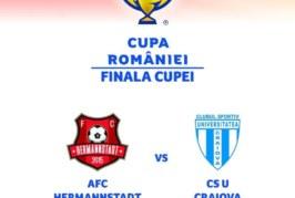 Hermannstadt vs CS U Craiova – Profită de cota specială 10 pentru câştigătoarea Cupei