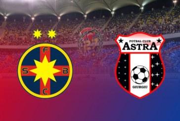 Ponturi pariuri FCSB vs Astra Giurgiu – România Liga I – 4 noiembrie 2018
