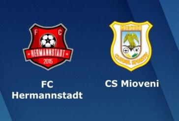 Ponturi Hermannstadt vs CS Mioveni fotbal 30 mai 2018 Liga 2