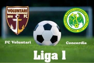 FC Voluntari vs Concordia Chiajna – Cote bune dacă oaspeţii îl trimit pe Mutu la baraj