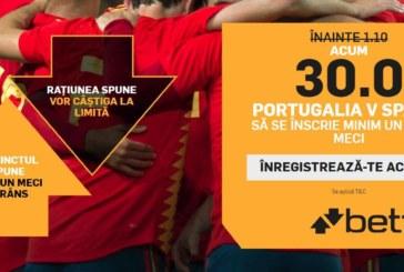 Pontul zilei din fotbal – Joi 15 Iunie – Cota 2.55 – Castig potential 255 RON