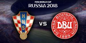 Ponturi Croatia vs Danemarca 1 iulie 2018 Campionatul Mondial