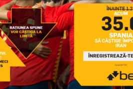 Biletul Zilei fotbal – Marti 19 Iunie – Cota 3.88 – Castig potential 388 RON