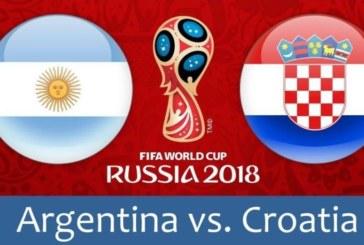 Ponturi Argentina vs Croatia 21 iunie 2018 Campionatul Mondial