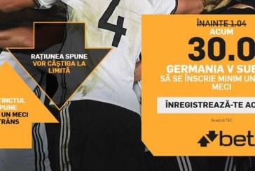 Pontul zilei din fotbal – Sambata 23 Iunie – Cota 2.00– Castig potential 200 RON