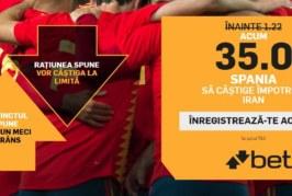 Biletul Zilei fotbal – Miercuri 20 Iunie – Cota 3.37 – Castig potential 337 RON