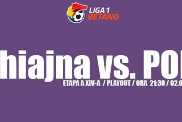 Ponturi Concordia Chiajna vs ACS Poli Timișoara 2 iunie 2018 Liga I Betano