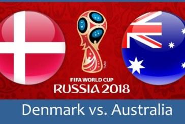 Ponturi Danemarca vs Australia 21 iunie 2018 Campionatul Mondial