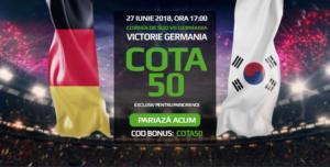 Pontul zilei din fotbal – Miercuri 27 Iunie – Cota 3.10 – Castig potential 310 RON